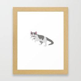 Catasaurus Rex Framed Art Print