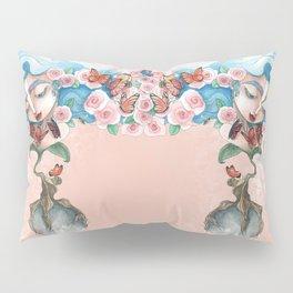 Queen of flowers Pillow Sham