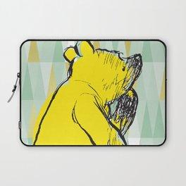 Thinking Pooh Laptop Sleeve
