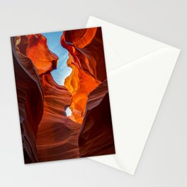 Sand & Sky Antelope Canyon Arizona Southwest Landscape Stationery Cards