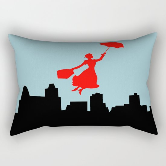 Mary Poppins  Rectangular Pillow