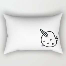CUTE NARWHAL Rectangular Pillow