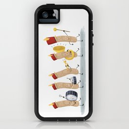 Marching Band-Aids iPhone Case