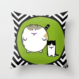 GORDIS & NIKI Throw Pillow