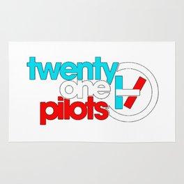 21 pilots color Rug