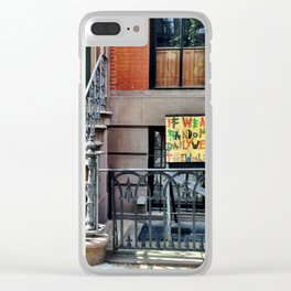 Pay It Forward Clear iPhone Case