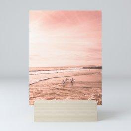 Surfing Mini Art Print