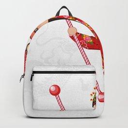 Beijing Opera Character YangPaiFeng Backpack