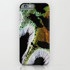 The Wing of a Shimmering Madagascan Sunset Moth  iPhone 6s Slim Case