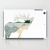 elk iPad Cases featuring Elk. by Wooden Wolves