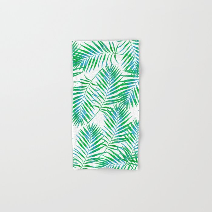 Fern Leaves Hand & Bath Towel