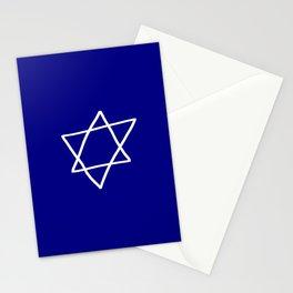Star of David 17- Jerusalem -יְרוּשָׁלַיִם,israel,hebrew,judaism,jew,david,magen david Stationery Cards