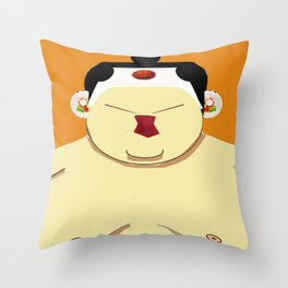 The Japanese 2 Throw Pillow