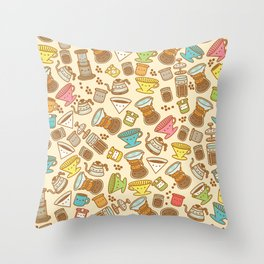 Coffee Forever Throw Pillow