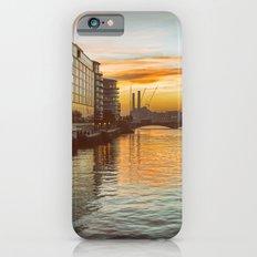 Sunset over Chelsea Bridge 02A - Vintage (everyday 13.01.2017) Slim Case iPhone 6s