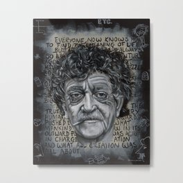 Man Without a Country Metal Print
