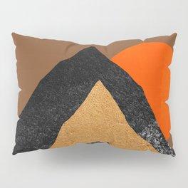 Abstraction_SUN_Mountains_Peak_Minimalism_001 Pillow Sham