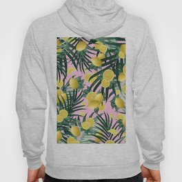 Summer Lemon Twist Jungle #6 #tropical #decor #art #society6 Hoody
