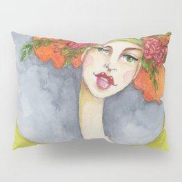 Jenny Manno Original Watercolor Pillow Sham