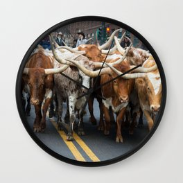 National Western Stock Show Parade Wall Clock