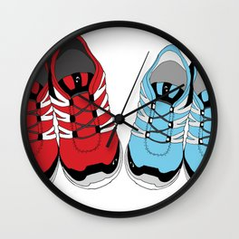 Sporty Shoe Love Wall Clock