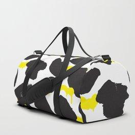 Grunge black spots Duffle Bag