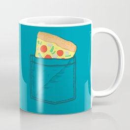 Emergency supply - pocket pizza Coffee Mug