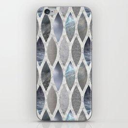Metallic Armour iPhone Skin