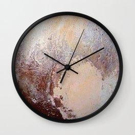 Pluto Wall Clock