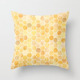 Honeycomb Pattern Throw Pillow