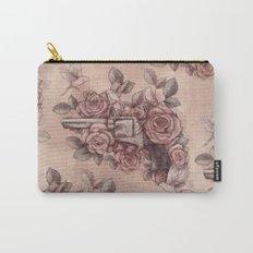 Guns & Flowers Carry-All Pouch