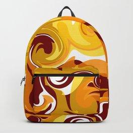 Hot Lava Swirls Backpack