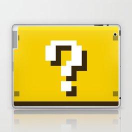 New Question Block Laptop & iPad Skin