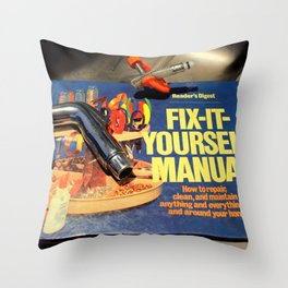 I Get By With A Little Help Throw Pillow