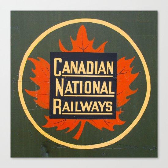 Canadian National Railways Canvas Print