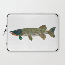 Northern Pike Laptop Sleeve