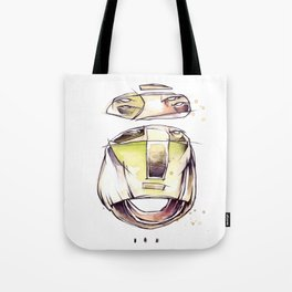 Coffee Face 03 Tote Bag