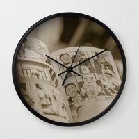 manga Wall Clocks featuring manga by gorkarcophoto