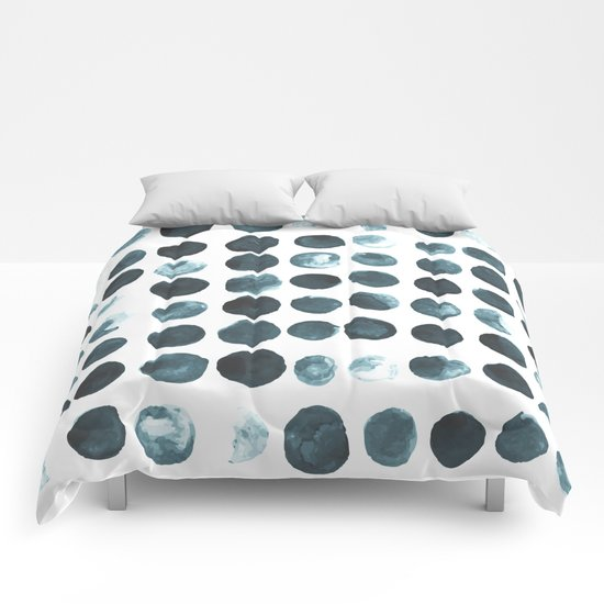Faded dots Comforters