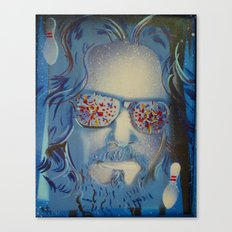Blue Dude : The Big Lebowski  Canvas Print