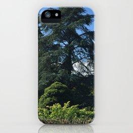 Kubota Garden tree scene iPhone Case