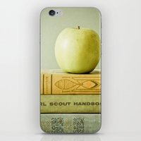 apple iPhone & iPod Skins featuring Apple by Olivia Joy StClaire