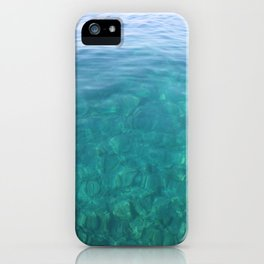 The Turquoise Coast iPhone Case