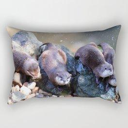 Otters Rectangular Pillow