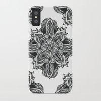 zentangle iPhone & iPod Cases featuring zentangle by Maria Velik