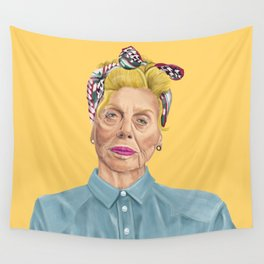 The Israeli Hipster leaders - Shulamit Aloni Wall Tapestry