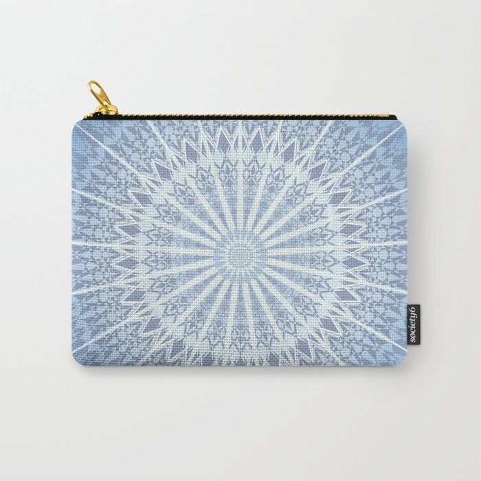 Blue Mandala 2 Carry-All Pouch