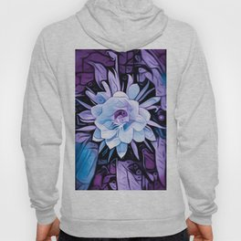 Purple Cereus Flower Hoody