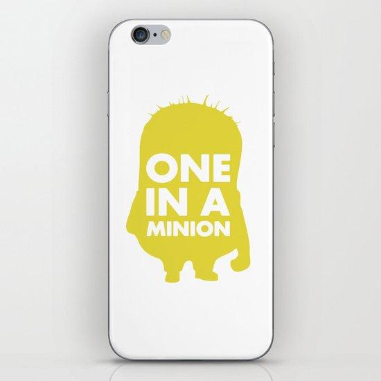 One in a Minion iPhone & iPod Skin