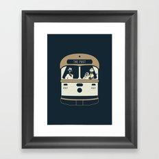 Urban Fae — TTC Streetcar Framed Art Print